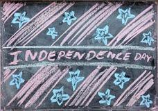 Retrait de Jour de la Déclaration d'Indépendance Image libre de droits