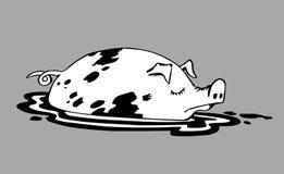 Retrait de porc illustration de vecteur