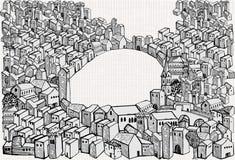 Retrait de ville illustration de vecteur