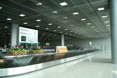 Retrait des bagages domestique Hall d'aéroport de Bangkok Suvarnabhumi Images libres de droits