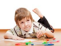 Retrait ou écriture d'enfant Image libre de droits