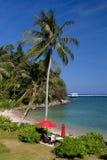 Retraite tropicale Image libre de droits