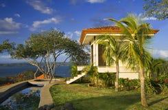 Retraite tropicale idyllique Images libres de droits