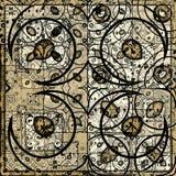 Retraits antiques illustration de vecteur