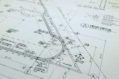 Retraits architecturaux Photographie stock