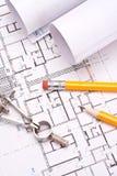 Retraits d'ingénierie et d'architecture Photos libres de droits
