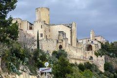 Retranchez-vous à la La Gornal de Castellet i du lac catalonia Images stock