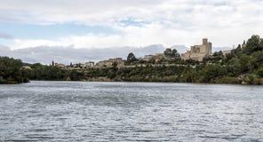 Retranchez-vous à la La Gornal de Castellet i du lac catalonia Image libre de droits