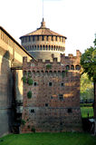 Retranchez-vous à Milan image stock