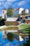 Retranchez-vous Becov NAD Teplou, Bohême, République Tchèque Images stock