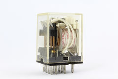 Retransmisión eléctrica Fotos de archivo libres de regalías
