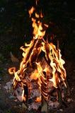 Retraso Ba'Omer Jewish Holiday Bonfire Imagen de archivo
