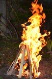 Retraso Ba'Omer Jewish Holiday Bonfire Imagenes de archivo