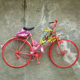 Retraso de la bici del vintage Imagen del color Imágenes de archivo libres de regalías