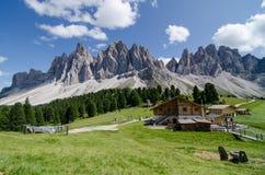 Retratamiento de la montaña Fotos de archivo libres de regalías