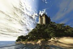 Retratamiento del castillo Fotografía de archivo libre de regalías