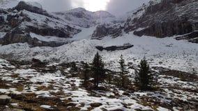 Retratamientos del glaciar foto de archivo