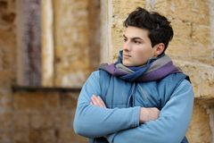 Retrato à moda novo do homem. Imagem de Stock Royalty Free