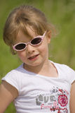 Retrato 1 da menina foto de stock royalty free