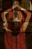 Retrato abstracto de la mujer Foto de archivo libre de regalías