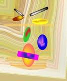 Retrato abstrato ilustração do vetor