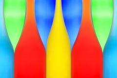 Retrato abstrato dos frascos da cor Imagem de Stock Royalty Free