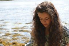 Retrato adolescente foto de stock royalty free