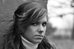 Retrato adolescente Fotos de archivo