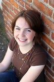 Retrato adolescente da menina Fotografia de Stock