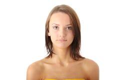 Retrato adolescente da mulher Fotos de Stock Royalty Free