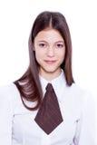 Retrato adolescente de la escuela Foto de archivo libre de regalías