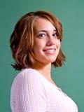 Retrato adolescente de la muchacha Foto de archivo