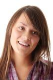 Retrato adolescente de la mujer Fotografía de archivo libre de regalías