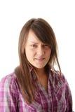 Retrato adolescente de la mujer Imagen de archivo