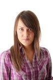 Retrato adolescente de la mujer Imagen de archivo libre de regalías
