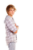 Retrato adolescente del muchacho Fotos de archivo