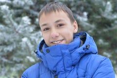 Retrato adolescente del muchacho Foto de archivo libre de regalías