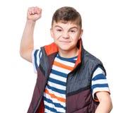 Retrato adolescente del muchacho Fotografía de archivo libre de regalías