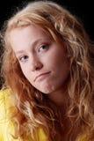 Retrato adolescente divertido de la muchacha Imágenes de archivo libres de regalías