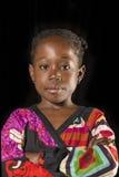 Retrato africano da menina fotos de stock