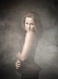 Retrato agradable de la muchacha foto de archivo