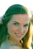 Retrato agradable de la muchacha adolescente feliz Fotografía de archivo