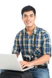 Voyageur moderno Fotografía de archivo