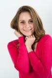 Retrato aislado del adolescente joven alegre Imagen de archivo