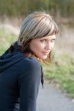 Retrato al aire libre de la mujer fotografía de archivo libre de regalías