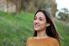 Retrato al aire libre del adolescente Imagenes de archivo