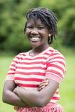 Retrato al aire libre del adolescente sonriente Imagenes de archivo