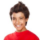Retrato alegre del muchacho Fotos de archivo