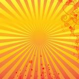 Retrato amarelo para felicitações Imagem de Stock
