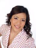 Retrato americano asiático novo da mulher Imagem de Stock